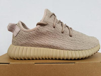 Wholesale box turtle for sale - Group buy oxford tan kanye west v1 size top basf pk version turtle dove oxford tan moon rock running shoes us5 us12 with box