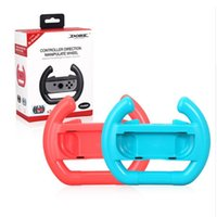 Wholesale steering games for sale - Group buy Ns Accessories Left Right Joy Con Grip Racing Game Steering Wheel Controller Grip For Nintend Switch Joy Con Joystick Gamepad