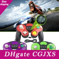 Wholesale accessories video games resale online - For Gamecube Controller Wired Handheld Joystick For Ngc Gc Controle For Mac Gamepad Video Game Accessories Without Logo