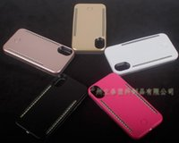 Wholesale led phone case iphone for sale – best Cgjxs Led Light Phone Cases Phone X Double Sides Light Battery Case Cover For Iphone X With Retail Box