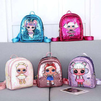 Wholesale cartoon character girls for sale - Group buy LOL Dolls SURPRISE Bag Children s School Cute Bag Plecak d Bag Cartoon Print Cute Anime Kids Backpack toys for girls
