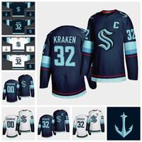 Wholesale ice hockey teams resale online - Seattle Kraken Jersey Mens Kraken Kraken Jersey Season New Team Blue White Blank Cheap Ice Hockey Jerseys Custom Stitched