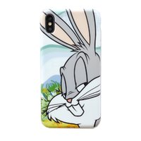 Wholesale comic case for iphone online – custom XYM For Iphone pro Cartoon comic bunny mobile phone case xs max xr iphone8plus soft shell anti drop s