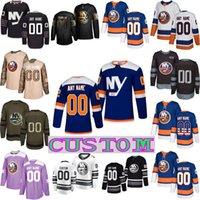 Wholesale nick leddy jersey for sale - Group buy CUSTOM New York Islanders Jersey Mathew Barzal Josh Bailey Anders Lee Eberle Nick Leddy Thomas Hickey Beauvillier Brock Nelson Ryan Pulock