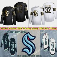 Wholesale team hockey resale online - Seattle Kraken Jersey th New Team Hockey Jerseys Season Custom Men Women Youth Embroidery Stitched Jerseys Shirt Good Quality