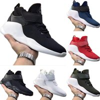 Wholesale action rubber resale online - 2020 Kwazi Mid Top Mesh Breathable Running Shoes Originals Kwazi Action Buffer Rubber Built_in Zoom Air Cushioning Jogger Shoes