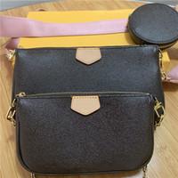 Wholesale phone accessories bag resale online - Fashion handbags purses Women favorite mini pochette accessories crossbody bag vintag shoulder bags leather multi color straps wallet