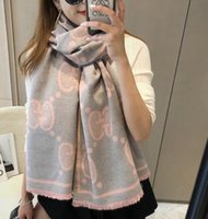 Wholesale lace infinity scarves resale online - 2019 Women s Cashmere High End Cashmere Scarves Fashion Soft Winter Scarf Men And Women Luxury Accessories infinity Scarves