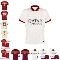 Wholesale best thailand for sale - Group buy Best thailand DE ROSSI DZEKO ZANIOLO soccer jersey rome TOTTI AS PEROTTI jersey football kit shirt ROME Men and Kids XXL