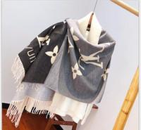 Wholesale cotton tartan scarf resale online - 2020 new Hot sale Brand Scarf High Quality Silk brands Designer Scarf Fashion floral Scarves Shawlfashion classic for women w18