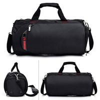 Wholesale women weekender bag for sale - Group buy Sports Gym Bag with Separate Wet Pocket Shoes Compartment Travel Duffel Bag Weekender Athlete Fitness Bags Handbag for Men Women