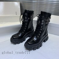 Wholesale hand shoes resale online - 2021 fashion women boots Platform Boot Spaceship Ankle Boots black red Heel flamingos medal lost in ech0 boots heavy classic shoes sneakers