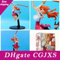 Wholesale nami anime figure resale online - 25 Anime Model Action Toy Figures One Piece Nami Figure Gift The Battle Over The Dome Kids Nami Model Gift
