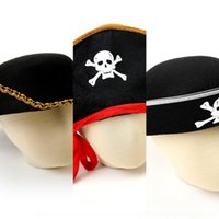 Wholesale caribbean hats for sale - Group buy jzx04 cosplay Caribbean faction costume props hat xsbD Pirates Of The Pirate stage and Costume pirate performance props