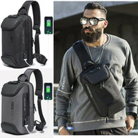 Wholesale sling backpacks for sale - Group buy Anti theft Chest Sling Bag Crossbody Backpack Shoulder Casual Daypack for Men Colors