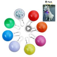 Wholesale night lights for dog collars for sale - Group buy Dog LED Glow Collar Light Pendant Pet Night Out Security Lights for Dogs Anti Lost Flashing Mode Josh LT3Z