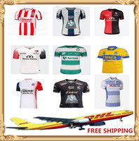 Wholesale club america soccer resale online - new DHL Club America soccer Jerseys LIGA MX Club America Jerseys Size can be mixed batch