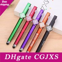 Wholesale pens with stylus for sale - Group buy 3 In Stylus Pens Promotional Pens With Position Custom Printing Logo Mutifunction Gel Ink Pen
