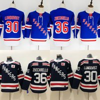 Wholesale new york ranger youth hockey jerseys for sale - Group buy Youth kids women New York Rangers Henrik Lundqvist Mats Zuccarello Hockey jersey stitched