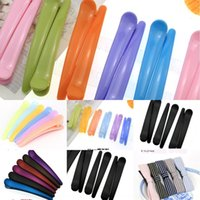 Wholesale barber clips for sale - Group buy Barber shop duckbill clip large and seamless clip large dyeing hair bangs small tools extra plastic hairdressing tools Pl4qE