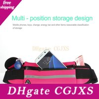 Wholesale travel waist bags for men for sale - Group buy Fashion Portable Convenient Mobile Phone Waist Packs Men Women Bum Bag Travel Pouch Outdoor Running Waterphone Cover For Mobile Phone