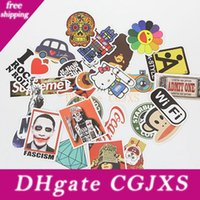 Wholesale diy stickers for laptop for sale - Group buy Laptop Waterproof Diy Cartoon Sticker Pvc Waterproof Stickers Multi Function Suitcase Skateboard Motorcycle Stickers Bh0922 Tqq