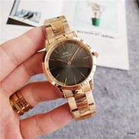 Wholesale man steel 3d resale online - 3D Curve New Daniel W watches men luxury watches mm mens women mm Quartz watch Fine steel strap Relogio Montre Femme