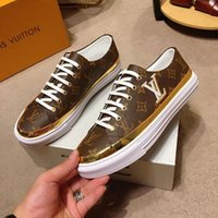 Wholesale mens coach sneakers resale online - Fashion Designer shoes high top coach running shoes superstars Printed leather Letter coach sneakers Lace up running shoes mens high quality