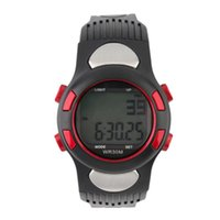 ingrosso orologio di valutazione dell'impulso-Infrared Digital Heart Rate Monitor Guarda Pulse Meter di caloria di sport del tester Business Casual Relogio