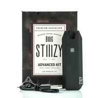 Wholesale BIG Stiiizy Advanced Kit Vape Pen Battery Rechargeable Battery Starter Kit for Vaporizer Thich Oil Cartridge Flat Pods USB Charging