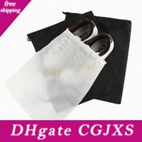 Wholesale travel clothes compression bag for sale - Group buy Portable Travel Storage Bag For Shoes Non Woven Drawstring Shoes Bags Clothes Underweaportable Travel Storage R Pouch Organizer Lx8087