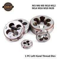 Wholesale tools for left handed for sale - Group buy CMCP pc M3 M6 M8 M10 M12 M14 M16 M18 M20 Left Hand Thread Dies For Metal Working Threading Tools Metric Screw Dies