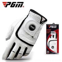 Wholesale golf glove left hand resale online - PGM golf Gloves sheepskin men s breathable non slip left and made and gloves right hand RFLjk
