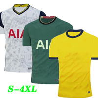 Wholesale xl football jerseys resale online - 16 XL KANE SON BERGWIJN NDOMBELE BALE Soccer Jerseys LUCAS SPURS DELE TOTTENHAM jersey Football kit shirt Men