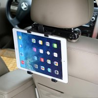 titular guia carro universal venda por atacado-cgjxs 1set Universal Car Back Seat Tablet PC Stands Car Holder Encostos Pillow preguiçoso Suporte Suporte Suporte para PC Tablet iPad Stands