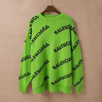 Wholesale puller for sale - Group buy Free ship SS Autumn Women s Fashion alphabet print colour knit sweater casual slim sailor neck puller