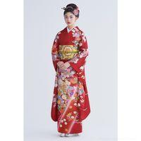 Wholesale anti vibrators resale online - yiHCD TsAOr vibrator formal wear women s large positive wind Japanese Vibrator Kimono kimonosleeve kimono anti wrinkle non ironing traditiona