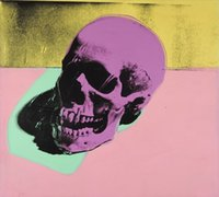 Wholesale skull art pictures for sale - Group buy Andy Warhol Skull Home Decoration Art Works Handcrafts HD Print Oil Painting On Canvas Wall Art Canvas Pictures