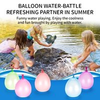 Wholesale magic fill water balloons for sale - Group buy Latex Water balloons Kids Summer water balloons Magic water balloons Beach Party toys Easy filling multicolor