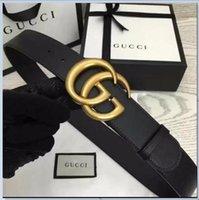 Wholesale best fiber resale online - Best quality designer brand name fashion Men s Business Waist Belts Automatic buckle Genuine Leather belts For Men