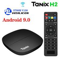 Tanix H1 H2 Android 9.0 TV Box 2GB 16GB Hisilicon Hi3798M V110 2.4G Wifi 4K Media Player X96Q T95 TV Box