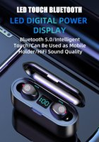 Wholesale samsung bluetooth airpods for sale – best F9 TWS wireless bluetooth headphones LED Digital Power Display wireless bluetooth headphones Bluetooth V5 airpods wireless earbuds