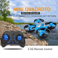 Wholesale The new G mini aircraft one button return home headless mode small remote control aircraft children s toy