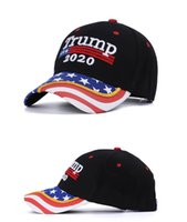 Wholesale FREE DHL Donald Trump Camouflage Hat Keep America Great Ball Cap Embroidery Letter Baseball Cap Adjustable Snapback Hat For Man Women