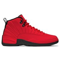 Wholesale retro 12 red suede for sale - Group buy Ovo s Designer White Gym Red Shoes Dark Air Grey Basketball Shoes Men Women Taxi Blue Suede Retro f Flu Game Cny Sneakers Size