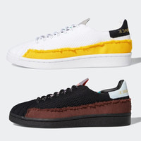 ingrosso nmd human race-adidas nmd human race Pharrell Williams x Superstar mens Casual shoes Cloud White Core Black nmds men women platform trainers sports sneakers  chaussures zapatos scarpe