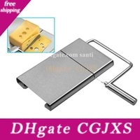 Wholesale cheese plates for sale - Group buy Home Cut Butter Plate Stainless Steel Cheese Slicer Hand Movement Kitchen Supplies