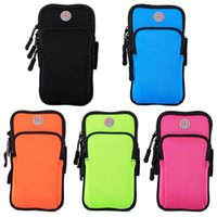 Wholesale arm band case sport bag for sale - Group buy Cgjxs Sports Armband Case For Iphone Cover Running Jogging Arm Band Pouch Holder Bag For Inch Universal For Iphone Xiaomi Huawe Sa