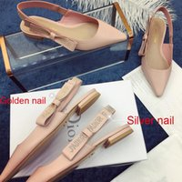 Wholesale girls figure skates for sale - Group buy 2020 Fashion Lady Party Dress Shoes Gold Silver Rivet Girl Sandal Top Quality Women Summer Driving Sandal Outdoor Travel Beach Sandals