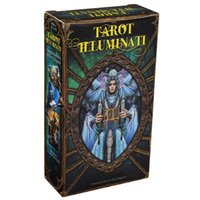 Wholesale electronic books resale online - Illuminati Deck Game Cards Tarot Divination Kit And Book Guidebook Tarot Tarot E Electronic Guide Card Oracles Toy bbynUx yhshop2010